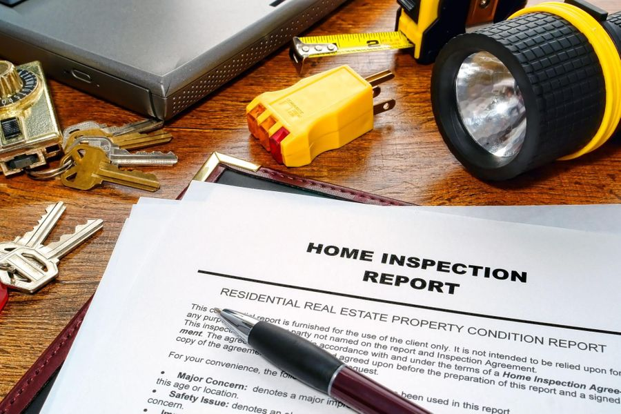 Having a home inspection