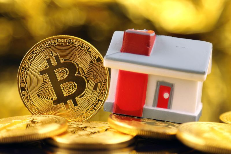 Real estate transactions with Bitcoin