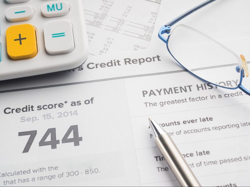 Check your credit score and credit history