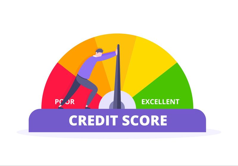 (Having a good credit score makes mortgage approval easier