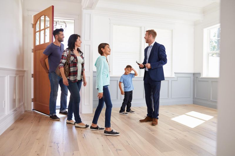 Visit homes for sale with your real estate agen