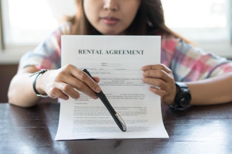 A rental agreement will provide landlords with the information they need to end their tenancy and sell their rental property