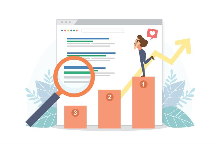 Search engine optimization (SEO) is the process of optimizing keywords and content to improve search engine rankings